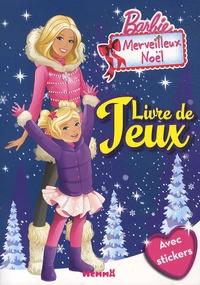 Hemma - Barbie Merveilleux Noël - Livre de jeux.