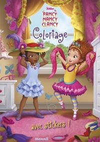 Hemma - Coloriage avec stickers Fancy Nancy Clancy.