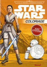 Coloriage avec stickers Star Wars - Voyage vers Star Wars : lascension de Skywalker.pdf