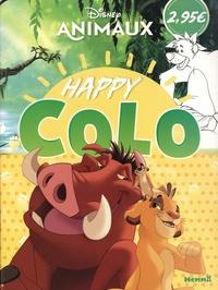 Epub books à télécharger gratuitement Disney Animaux Happy Colo  par Hemma
