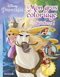 Hemma - Disney Princesses - Mon gros coloriage + stickers !.