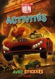Hemma - Disney Ralph 2.0 - Activités avec stickers.