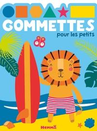 Hemma - Gommettes pour les petits (Lion surf).