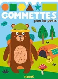 Hemma - Gommettes pour les petits (Ours camping).