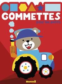 Hemma - Gommettes pour les petits - Tracteur.