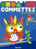 Hemma - Gommettes pour les petits - Hibou.