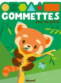 Hemma - Gommettes pour les petits - Panda roux.
