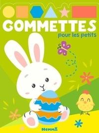 Téléchargez des livres audio gratuitement en ligne Gommettes pour les petits  - Pâques par Hemma (French Edition)  9782508046131