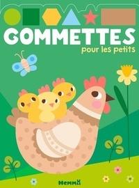 Hemma - Gommettes pour les petits - La ferme.