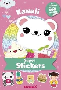 Hemma - Kawaii - Des coloriages et + de 500 stickers.