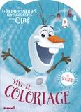 Hemma - La Reine des Neiges joyeuses fêtes avec Olaf - Vive le coloriage.