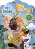Hemma - La reine des neiges, une fête givrée - Vive le coloriage ! + stickers.