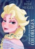 Hemma - La reine des neiges - 96 pages de jeux et de coloriages.