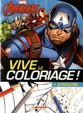 Hemma - Marvel Avengers Captain America - + stickers.