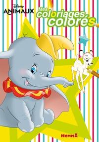 Hemma - Mes coloriages colorés Disney animaux.