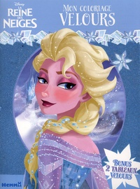 Hemma - Mon coloriage velours La Reine des Neiges.