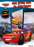 Hemma - Mon grand bloc de coloriages avec stickers Cars 3.