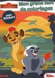 Hemma - Mon grand bloc de coloriages avec stickers La garde du Roi Lion.