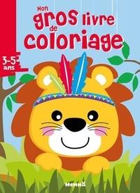 Hemma - Mon gros livre de coloriage Lion.
