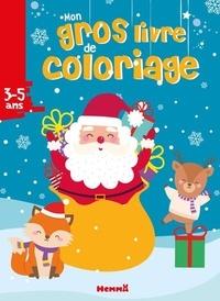 Hemma - Mon gros livre de coloriage Père Noël.