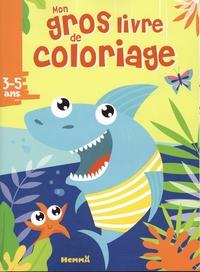 Hemma - Mon gros livre de coloriage requin.