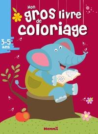 Hemma - Mon gros livre de coloriage.