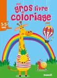 Hemma - Mon gros livre de coloriage - 3-5 ans.