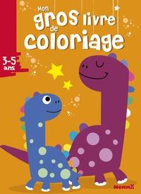 Hemma - Mon gros livre de coloriage - Dinosaures.