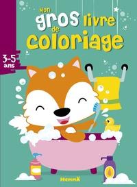 Hemma - Mon gros livre de coloriage - Renard.