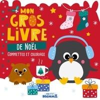Hemma - Mon gros livre de Noël - Gommettes et coloriage.