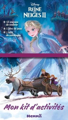 Mon Kit D Activites Disney La Reine Des Neiges De Hemma Livre Decitre