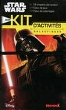Hemma - Mon kit d'activités galactiques Star Wars - Contient : 1 bloc de jeux, 1 bloc de coloriages, 12 crayons de couleur.