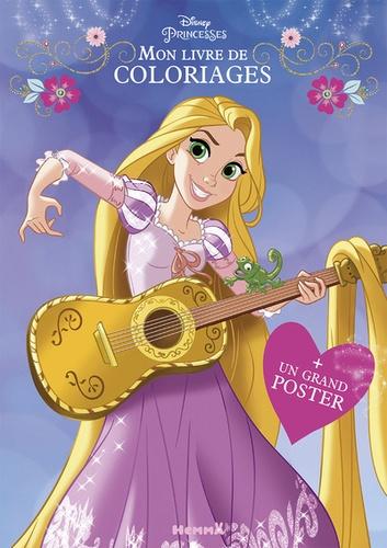 Coloriage Disney Grand Format.Mon Livre De Coloriages Disney Princesses Avec 1 Grand Poster Grand Format