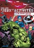 Hemma - Mon livre de jeux et activités Marvel Avengers - Avec un grand poster recto verso.