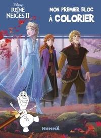Ebook télécharger le fichier pdf Mon premier bloc à colorier Disney La reine des neiges II (bleu)