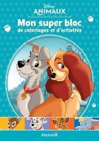 Hemma - Mon super bloc de coloriages et d'activités Disney Animaux.