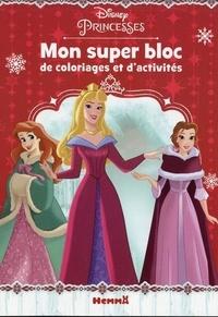 Hemma - Mon super bloc de coloriages et d'activités Disney Princesses.