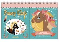 Hemma - Poney Club - Des stickers, des décors, des coloriages.