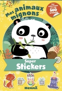 Hemma - Super stickers Mes animaux mignons (Panda).