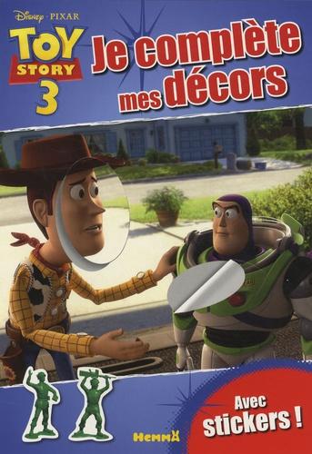 Hemma - Toy Story 3, je complète mes décors - Avec stickers !.