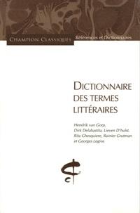 Hendrik Van Gorp et Dirk Delabastita - Dictionnaire des termes littéraires.