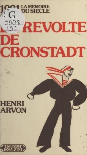 La révolte de Cronstadt