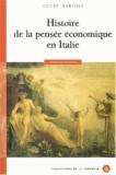 Henri Bartoli - Histoire de la pensée économique en Italie.