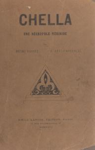 Henri Basset et Evariste Lévi-Provençal - Chella - Une nécropole mérinide.