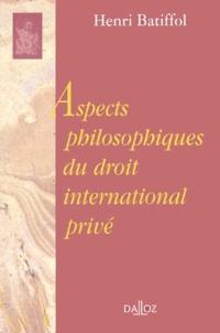 Deedr.fr Aspects philosophiques du droit international privé Image
