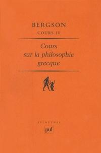 Corridashivernales.be Cours sur la philosophie grecque. - Volume 4 Image