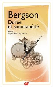 Henri Bergson - Durée et simultanéité.
