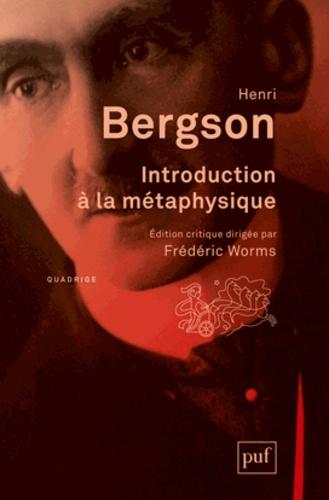 Introduction à la métaphysique 2e édition