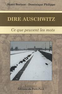 Dire Auschwitz - Ce que peuvent les mots.pdf