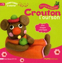 Henri Bosse - Crouton l'ourson - Jeux, imagier, coloriages.